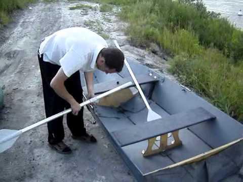 Ловля на самодельной лодке