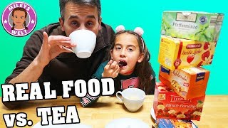 REAL FOOD VS TEA FOOD | PIPI ZUM TRINKEN | MILEYS WELT