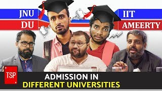 Admission in JNU, IIT, DU & Ameerty | TSP
