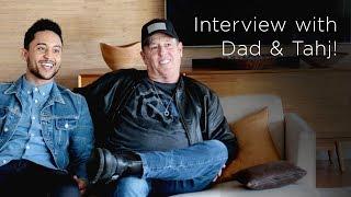 Tahj Mowry & Dad Q&A | Tia Mowry's Quick Fix