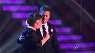 """Susan Boyle & Donny Osmond (Duet/Serenade) ~ """"This Is The Moment"""" ~ Dancing With The Stars"""