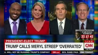 Van talks Meryl Streep | 1/9/2017