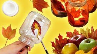 Oh wow! Kleber ist wirklich das Beste, was Herbstlaub passieren kann!
