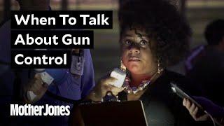 Gun Control Advocates Stage a Small Rally in Las Vegas