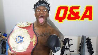 Q&A SUNDAY - THE BOXING CHAMP