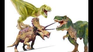 Динозавры. ПОХИЩЕНИЕ ТРИЦЕРАТОПСА. Тираннозавры. Видео про динозавров на русском языке