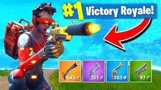 Using *ONLY* PISTOLS To WIN Fortnite: Battle Royale! (Challenge)