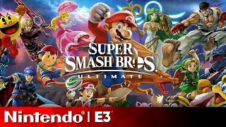 Super Smash Bros Ultimate Full Reveal | Nintendo E3 2018 Direct