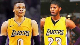 Russell Westbrook Joins Lakers with Paul George and Lonzo Ball