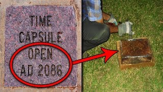 Top 15 Scary Things Found in Time Capsules