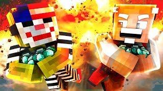 EINBRUCH mit EINEM 80-JÄHRIGEN?! - Minecraft EINBRUCH