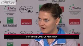 Does Safarova know her grunting? And what about Kvitova?