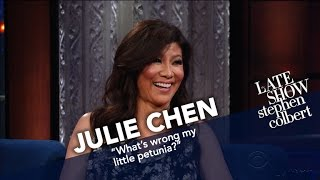 Julie Chen Broke The 2016 Election Results To The
