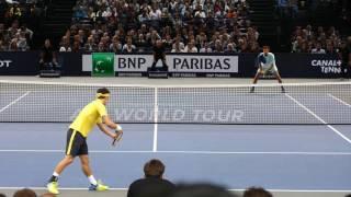 Kei Nishikori vs Jo Tsonga - PARIS 2016 Highlights HD