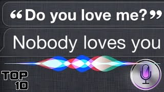 Top 10 Funniest Siri Responses