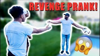 THREW DESHAE FROST $500 SHOES IN THE POOL!  *REVENGE*