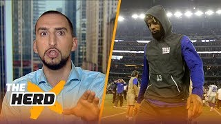 Nick Wright: Odell Beckham Jr. is the only WR more important than his QB, more | THE HERD