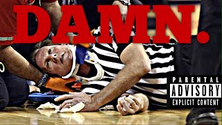 Basketball Referees Getting Hit