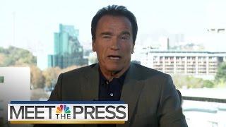 Arnold Schwarzenegger On Donald Trump, The Republican Party And 2016 | Meet The Press | NBC News