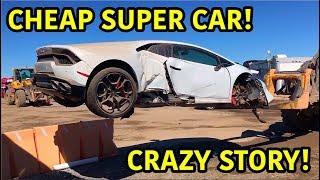 Rebuilding A Wrecked Lamborghini Huracan