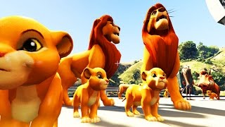 The Lion King 2017 - SIMBA FAMILY LIVING THE LIFE
