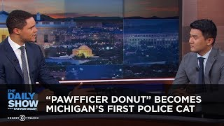 """""""Pawfficer Donut"""" Becomes Michigan"""