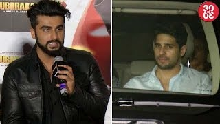 Arjun Gets Modest After Being Compared To SRK | Sidharth Malhotra Admits Being Single