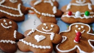 Gingerbread Men & Women Cookie Recipe - How To Make Gingerbread Cookies
