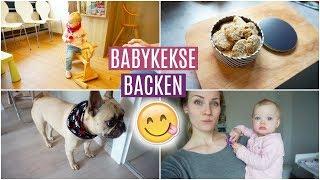 Einfache (vegane) BABYKEKSE backen ❘ Kinderarzt ❘ Bruno der kleine PIRAT ❘ MsLavender