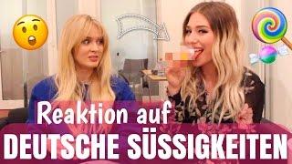 Ihre REAKTION - 1. Mal deutsche Süßigkeiten mit ZARA LARSSON 😧 | BibisBeautyPalace