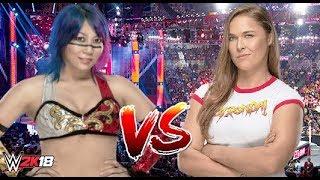 Asuka vs Ronda Rousey