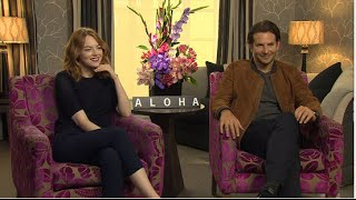 Emma Stone Does a Ridiculous Bradley Cooper Impression