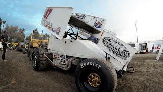GoPro: Kyle Larson Rips Up Sprint Car Dirt Track
