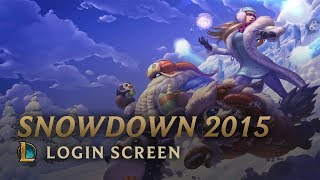 Snowdown 2015 | Login Screen - League of Legends