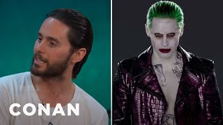 Jared Leto Tested Out A Few Different Joker Laughs  - CONAN on TBS