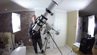 Testing The New Telescope - Astronomy, The Journey Begins