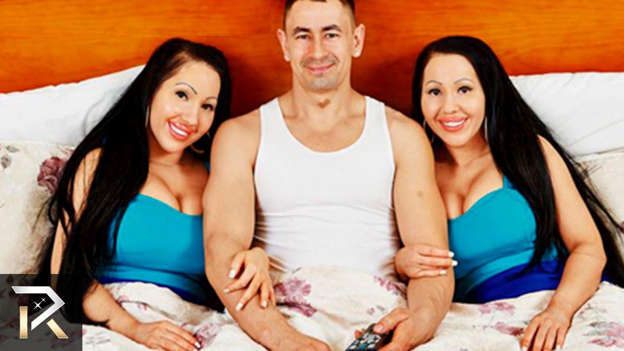 Секс с двумя девочками сразу 2 фотография