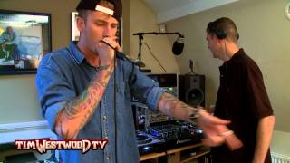 Machine Gun Kelly freestyle - Westwood
