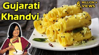 Gujarati Khandvi With Master Chef Tarla Dalal