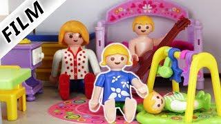 Playmobil Film deutsch | MAMA ALS KIND - Emmas Schnösel Gute Nacht Geschichte |  Familie Vogel