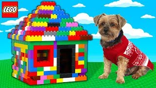 WORLDS SMALLEST LEGO BOX FORT!!