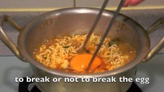 Korean Spicy Noodle with Cheese