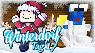 Minecraft Winterdorf - Tag 17