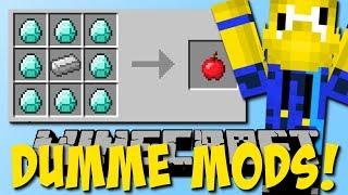 Die dümmsten Mods! (Diamant zu Apfel, 1000 Mods Mod)