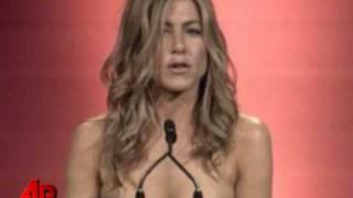 Aniston Takes a Jab Ex-husband Pitt