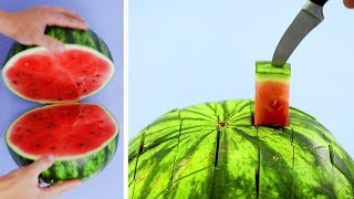 More FRUITS and VEGGIES = More ENERGY! 25 Life Hacks by Crafty Panda