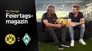 Das Feiertagsmagazin mit Marco Reus | BVB - Werder Bremen