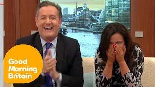 Susanna Reid Cracks Up At Awkward Charlie Stayt Moment   Good Morning Britain