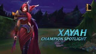 Xayah Champion Spotlight | Gameplay - League of Legends