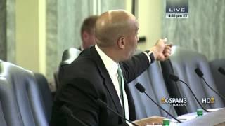 Sen. Cory Booker questions NCAA President (C-SPAN)